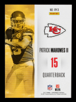 Patrick Mahomes II 2017 Panini Contenders Rookie of the Year Contenders #3 at PristineAuction.com
