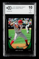 Mike Trout 2011 Bowman Chrome Draft #101 RC (BCCG 10) at PristineAuction.com