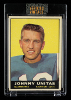 Johnny Unitas 1961 Topps #1 at PristineAuction.com
