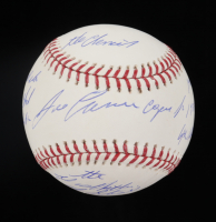Jose Canseco Signed OML Baseball With (8) Inscriptions (Tristar Hologram) at PristineAuction.com