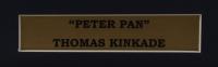 "Thomas Kinkade ""Peter Pan"" 16x16 Custom Framed Print Display With Peter Pan Pin at PristineAuction.com"
