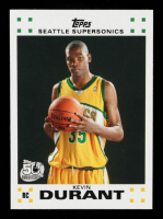 Kevin Durant 2007-08 Topps #112 RC at PristineAuction.com
