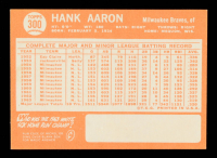 Hank Aaron 1964 Topps #300 at PristineAuction.com