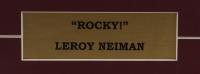 "LeRoy Neiman ""Rocky"" 13x19 Custom Framed Print Display at PristineAuction.com"