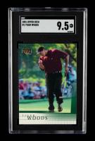 Tiger Woods 2001 Upper Deck #1 RC (SGC 9.5) at PristineAuction.com