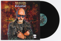 "Rob Halford Signed ""Celestial"" Vinyl Record Album (JSA COA & PSA COA) (See Description) at PristineAuction.com"