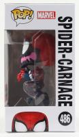 Spider-Carnage - Spider-Man - Marvel #486 Funko Pop! Vinyl Bobble-Head Figure at PristineAuction.com