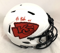 Nick Bolton Signed Chiefs Full-Size Authentic On-Field Lunar Eclipse Alternate Speed Helmet (Beckett Hologram) at PristineAuction.com