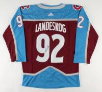 Gabriel Landeskog Signed Avalanche Captain Jersey (JSA COA) at PristineAuction.com