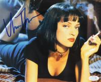 """Uma Thurman Signed """"Pulp Fiction"""" 8x10 Photo (AutographCOA COA) at PristineAuction.com"""