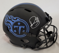 Bud Dupree Signed Titans Full-Size Authentic On-Field Lunar Eclipse Alternate Speed Helmet (Beckett Hologram) at PristineAuction.com
