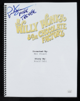 """Paris Themmen Signed """"Willy Wonka & The Chocolate Factory"""" Movie Script Inscribed """"Mike Teevee"""" (JSA COA) at PristineAuction.com"""