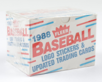 1988 Fleer Updated Baseball Card Box with (132) Cards at PristineAuction.com