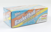 1992-93 Topps NBA Basketball Cards Complete Set Series 1 & 2 with (396) Cards at PristineAuction.com