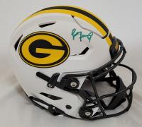 Brett Favre Signed Packers Full-Size Authentic On-Field Lunar Eclipse Alternate SpeedFlex Helmet (Radtke COA) at PristineAuction.com