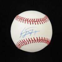 Jose Peraza Signed OML Baseball (MLB Hologram & Fanatics Hologram) at PristineAuction.com