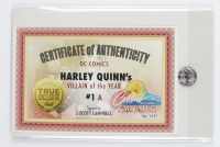 """J. Scott Campbell Signed 2019 """"Harley Quinn's Villain of the Year"""" Marvel Comic Book (Campbell COA) at PristineAuction.com"""