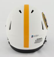 Troy Polamalu Signed Steelers Lunar Eclipse Alternate Speed Mini Helmet (Beckett COA) at PristineAuction.com