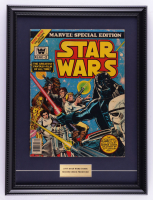 """1977 Original Second Issue """"Star Wars"""" 15x20 Custom Framed Comic Book at PristineAuction.com"""