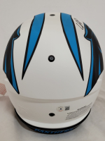 Chuba Hubbard Signed Panthers Full-Size Authentic On-Field Lunar Eclipse Alternate Speed Helmet (Beckett Hologram) at PristineAuction.com