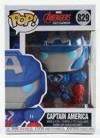 "Captain America - ""Avengers: Mech Strike"" - Marvel #829 Funko Pop! Vinyl Bobble-Head Figure at PristineAuction.com"