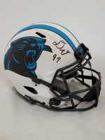 Daviyon Nixon Signed Panthers Full-Size Authentic On-Field Lunar Eclipse Alternate Speed Helmet (Beckett Hologram) at PristineAuction.com