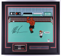 """Mike Tyson Signed """"Punch-Out!!"""" 23x25 Custom Framed Photo Display with Controller (JSA COA & Fiterman Sports Hologram) at PristineAuction.com"""