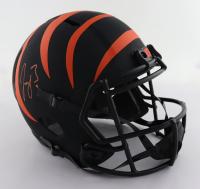 Joe Burrow Signed Bengals Full-Size Eclipse Alternate Speed Helmet (Fanatics Hologram) at PristineAuction.com
