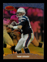 Tom Brady 2000 Pacific Finest Hour #15 at PristineAuction.com