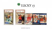 LUCKY 13 MYSTERY BOX –SERIES TWO at PristineAuction.com
