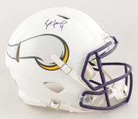 Brett Favre Signed Vikings Full-Size Authentic On-Field Matte White Speed Helmet (Radtke Hologram) at PristineAuction.com