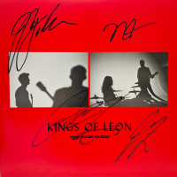 """Kings of Leon LE """"When You See Yourself"""" Vinyl Record Album Band-Signed By (4) With Caleb Followill, Jared Followill, Matthew Followill & Nathan Followill (JSA COA) at PristineAuction.com"""