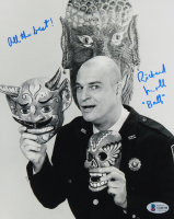 """Richard Moll Signed """"Night Court"""" 8x10 Photo Inscribed """"All the Best!"""" & """"Bull"""" (Beckett COA) at PristineAuction.com"""