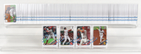 Set of (330) 2021 Topps Series 1 Baseball Cards with Mike Trout #27, Bobby Dalbec #26, Jo Adell #43, Fernando Tatis Jr. #1 at PristineAuction.com