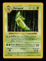 Metapod 1999 Pokemon Base Set Shadowless #54 at PristineAuction.com