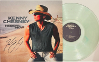 """Kenny Chesney Signed """"Here and Now"""" Vinyl Record Album (JSA COA) at PristineAuction.com"""