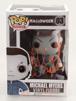"Nick Castle Signed ""Halloween"" #3 Michael Myers Funko Pop! Vinyl Figure Inscribed ""Shape"" (Radtke COA) at PristineAuction.com"