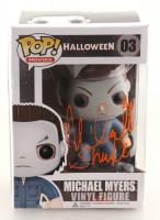 "Nick Castle Signed ""Halloween"" #3 Michael Myers Funko Pop! Vinyl Figure Inscribed ""Shape"" (Radtke COA) (See Description) at PristineAuction.com"