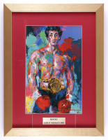 "LeRoy Neiman ""Rocky"" 14.5x19 Custom Framed Print Display (See Description) at PristineAuction.com"