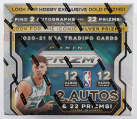 2020-21 Panini Prizm Basketball Hobby Box with (12) Packs (See Description) at PristineAuction.com