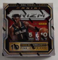 2020-21 Panini Prizm Basketball MEGA Box with (10) Packs at PristineAuction.com