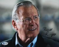Donald Rumsfeld Signed 8x10 Photo (Beckett COA) at PristineAuction.com