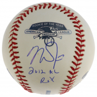 """Mike Trout Signed AL Rookie OF The Year OML Baseball Inscribed """"2012 AL ROY"""" (MLB Hologram) at PristineAuction.com"""