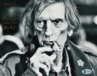 """Harry Dean Stanton Twice-Signed 8x10 Photo Inscribed """"Thanks!"""" (Beckett COA) at PristineAuction.com"""