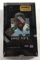 1992 Score Pinnacle Super Pack NFL Football Cards Box at PristineAuction.com