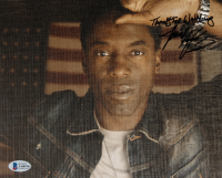 """Isaiah Washington Signed 8x10 Photo Inscribed """"Thanks for Watching"""" (Beckett COA) at PristineAuction.com"""