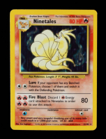 Ninetales 1999 Pokemon Base Unlimited #12 Holo at PristineAuction.com