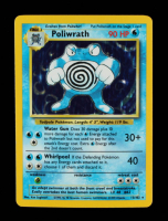 Poliwrath 1999 Pokemon Base Unlimited #13 Holo at PristineAuction.com