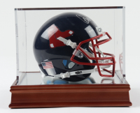"""Carlton Fisk Signed Red Sox Mini Helmet Inscribed """"HOF 2000"""" with Display Case (PSA COA) at PristineAuction.com"""