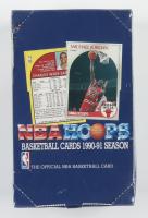 1990-91 NBA Hoops Series I Basketball Box of (36) Packs at PristineAuction.com